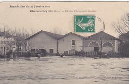 Chamouilley,l Usine Champenois Inondée - Autres Communes