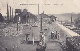 Eurville,le Canal,le Port Des Usines - Autres Communes