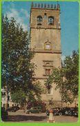 BADAJOZ - Torre De La Catedral Autos Carte Circulé 1961 - Badajoz