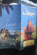 Iberia Travel Maps 1953 - Timetables