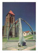 FALKLAND ISLANDS - STANLEY, Christchurch Cathedral, Whalebone Arch - Falkland Islands