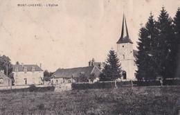 Carte 1930 MONT CHEVREL / L'EGLISE ET VUE DU VILLAGE - Frankreich