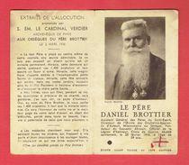 SOUVENIR RELIQUAIRE DU PERE DANIEL BROTTIER - Religion & Esotericism
