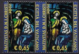 2006 Vatikan Mi. 1567 Di DR **MNH   Weihnachten: Glasfenster. - Ungebraucht