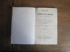 Bulletin De L'Instruction Primaire De La Meurthe  1855-1856. Imprimeurs Grimblot Et Veuve Raybois / Nancy 192 Pages . - Décrets & Lois