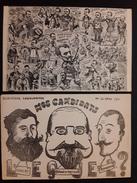 2 CPA  Politiques  Satiriques Elections Legislatives Mars 1911 - Mai 1909 - Satirische