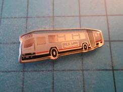 Pin1415c Pin's Pins / Beau Et Rare : AUTOBUS ARTICULE C&T TRANSPORTS  Marquage Au Dos : - --- - - Transport