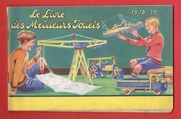 CATALOGUE TRAINS HORNBY 1938 1939 MECCANO DINKY TOYS CANOT VOITURE BATEAU AUTORAIL WAGON GARE DE CHEMIN DE FER ELEKTRON - Meccano