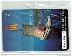 Phonecard Test Peru Entel Chip Agosto 1994  Lago Titicaca - Amper - Peru