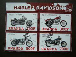 B(1676) 2010 # Transport - Motorcycles.Motorräder.Motocyclettes # Set Of 4 Stamps # Used Motorbikes - Motorbikes