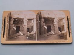 Small Temple At Medinet Habu THEBES Egypt ( 1069 ) Stereo Photo IMPERIAL SERIES ( Voir Photo Pour Detail ) ! - Photos Stéréoscopiques