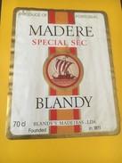 5380 -  Madère Spécial Sec Blandy Portugal - Bateaux à Voile & Voiliers