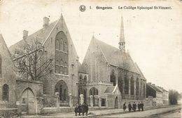 SOIGNIES - Le Collège St-Vincent - Oblitération De 1923 - Soignies