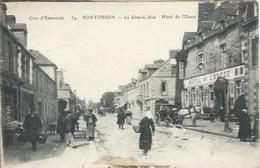 Pontorson, La Grande Rue, Hôtel De L'Ouest - Pontorson