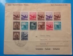 REPUBBLICA.ITALIA.STORIA POSTALE.BUSTA.DEMOCRATICA.AL RETRO NON Cè AFFRANCATURA..51 - 6. 1946-.. Republic