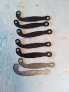 Contre Platine En Métal Pour Armes à Silex (sept) - REPRODUCTION - - Decorative Weapons