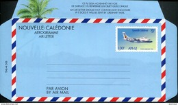 NOUVELLE CALEDONIE - AEROGRAMME N° 14 * * - AVION ATR 42 - LUXE - Luftpost