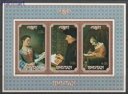 Bhutan 1993 Mi Bl348 MNH ( ZS8 BHTbl348 ) - Posta