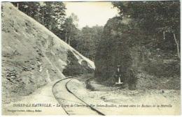 08. Holly-La-Hatrelle. Ligne De Chemin De Fer Sedan-Bouillon, Passant Entre Les Rochers De La Hatrelle. - France