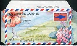 POLYNESIE FRANCAISE - AEROGRAMME N° 8 * * - SIGLE DES PTT - LUXE - Aérogrammes
