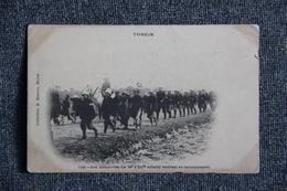 TONKIN - Le 18 ème D'Infanterie Coloniale Rentrant Au Cantonnement. - Guerres - Autres