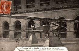 MUSEE DE L'ARMEE CAMPAGNE 1914-1915 AVIATICK ALLEMAND PRIS A JONCHERY - 1914-1918: 1ère Guerre