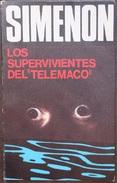 Los Supervivientes Del Telémaco'  - George Simenón     Las Novelas De Simenón  Nº 17 - Action, Adventure