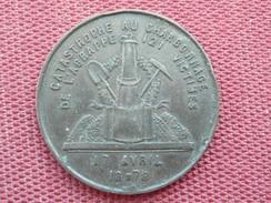 BELGIQUE Superbe Médaille Des Victimes Des Charbonnages De L'agrappe TRES RARE - Belgique