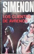 """Los Clientes De """"Avrenos""""  - George Simenón     Las Novelas De Simenón  Nº 21 - Action, Aventures"""
