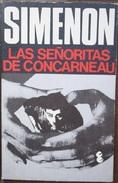 Las Señoritas De Concarneau  - George Simenón     Las Novelas De Simenón  Nº 39 - Action, Aventures