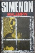 Malempin  - George Simenón     Las Novelas De Simenón  Nº 42 - Acción, Aventuras