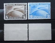 Dt.Reich Graf Zeppelin 1930 - 1931  Mi.Nr.458,438 Ungebraucht  Bitte Lesen !!    (H12) - Nuovi