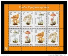 Moldova (Transnistria) 2016 No. 707/10 Flora. Poisonous Mushrooms (M/S) MNH ** - Moldavia