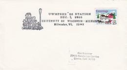 USA - UWMPSEX'88 STATION DEC 3.1988 UNIVERSITY OF WISCONSIN - MILWAUKEE  /1 - United States