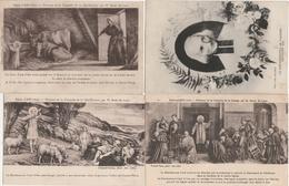 17 / 10 / 224  - BIENHEUREUX  CURÉ  D'ARS  -  PEINTURES  DE  L' ÉGLISE D'ARS  - SA  VIE - Saints
