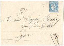 LETTRE Avec N°60 / 100 /TTB - 1871-1875 Cérès