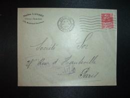 LETTRE TP FACHI 50c OBL.MEC.27 II 1931 PARIS VIII + MALLES LAVOET - Sonstige