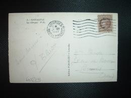 CP TP CERES DE MAZELIN 2F50 OBL.MEC.5 VII 1947 LOURDES HAUTES-PYRENEES (65) - Postmark Collection (Covers)