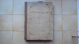 FRANCIA FRANCE PARIS PARIGI CASSAGNES ET INGÉNIEUR CIVIL, DIR. ANNALES INDUSTRIELLES ANNÉES 1869 - 1878 [PLANCHES] - Libri, Riviste, Fumetti