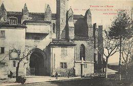 - Dpts Div. -ref-UU277- Aude - Limoux - Abside De L Eglise Notre Dame De Marceille -  Edit. Labouche - N°102 - - Limoux