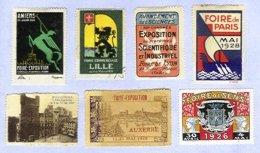 FRANCE, Cinderellas - Commemorative Labels