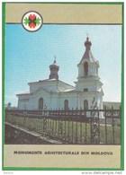 Moldova , Moldavie Moldau , 1992 , Butuceni , Orhei  , Church , Pre-paid Postcard - Moldova