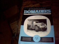 Revue Ministere Des Finances Bulletin De L Administration Des Domaines Vente Du 1 Au 15  Mai 1959 - Livres, BD, Revues