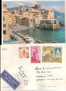Cartolina    Da GENOVA Con 3 Valori Gemelli Per Il Sud Africa  018 - Genova