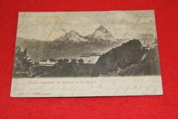 Schwyz Kloster Ingenbohl Bei Brunnen U. Die Mythen 1902 - SZ Schwyz