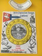 5386 - YCH Yacht-Club Horgen ClubWein Clevner 1989 Suisse - Bateaux à Voile & Voiliers