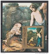 """Bf. 186B Manama 1972 """" Noli Me Tangere """"   Quadro Dipinto Da Correggio Preobliterato Rinascimento  Paintings - Arte"""