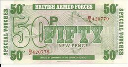 GRANDE BRETAGNE 50 PENCE UNC - Military Issues