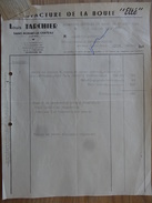 """St Bonnet Le Chateau  Loire Louis Tarchier Manufacture De La Boule """"Elte """" 1954 - Sports & Tourisme"""