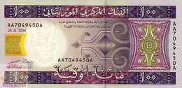 MAURITANIA 100 OUGUIYA 2004 PICK 10a UNC - Mauritania